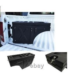 Ute Tub Universal Lockable Side Tool Box Storage Pair