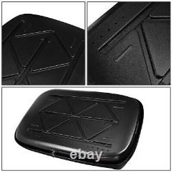 WATERPROOF CAR TOP CARGO CARRIER VEHICLE ROOF MOUNT TRAVEL STORAGE BOX With LOCK