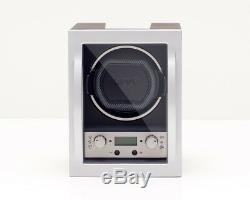 WOLF Module 4.1 Stackable Single Automatic Watch Winder Storage Box NEW