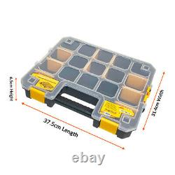 WrightFits Mobile Tool Storage Box On Wheels With Stackable Tool Organiser3 IN 1