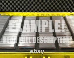 XXL Graded Card Storage Box PSA BGS One Touch Weatherproof Case YELLOW