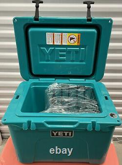 YETI Tundra 35 Cooler Aquifer Blue Used In Box Store Display Nice Shape